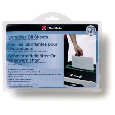 Rexel dokumentų naikiklių tepalinės servetėlės